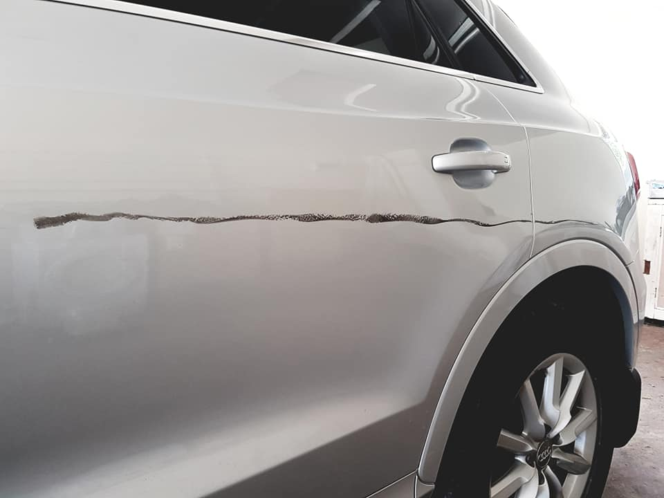 Car Scratch repair Leicester